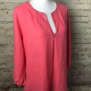 Eileen Fisher Irish Linen Tunic